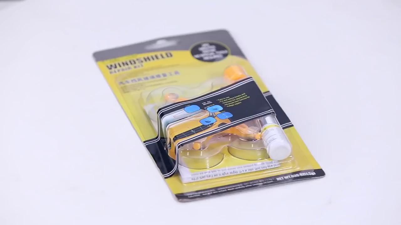 Windshield Repair Kit Glass Scratch Crack Restore