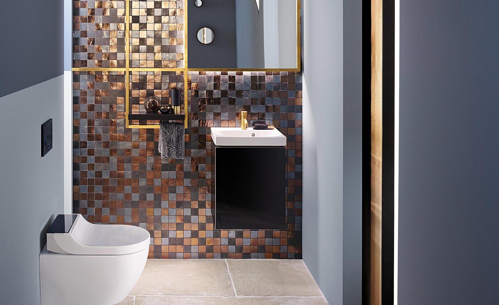 Schicke Ideen Fur Kleine Badezimmer Kleine Badezimmer Badezimmer Bad Einrichten