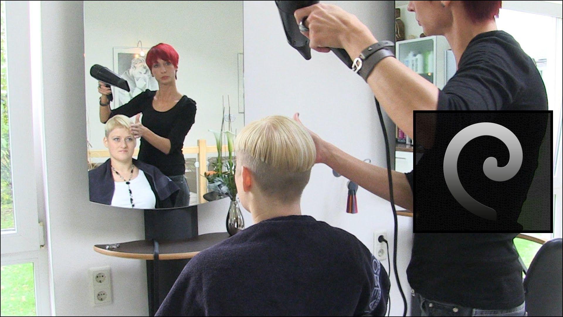 Extreme undercut bob haircuts hairstyles ideas pinterest