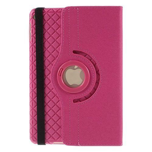 Javu - iPad Mini 4 Hoes - Rotatie Cover Denim Roze | Shop4TabletHoes
