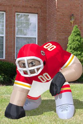 01bf16be Kansas City Chiefs Bubba Inflatable Lawn Figurine | KANSAS CITY ...