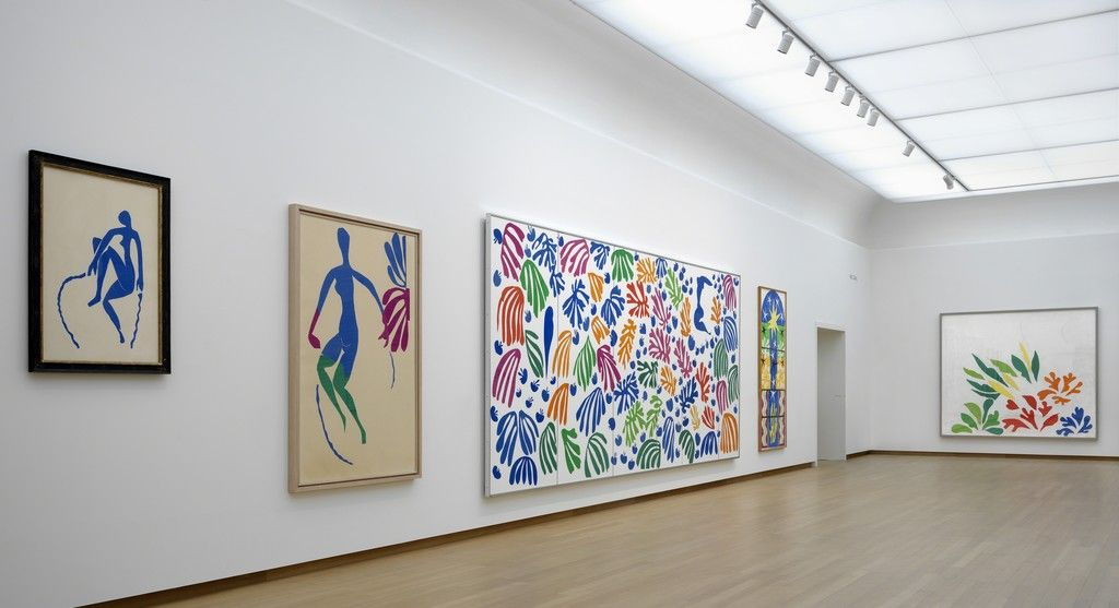 The Oasis of Matisse, installation view, Stedelijk Museum Amsterdam. Photo: Gert Jan van Rooij. ©Succession H. Matisse, c/o Pictoright Amsterdam 2014