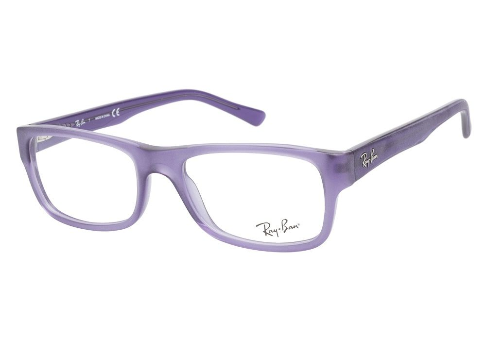 Purple Ray Ban Glasses