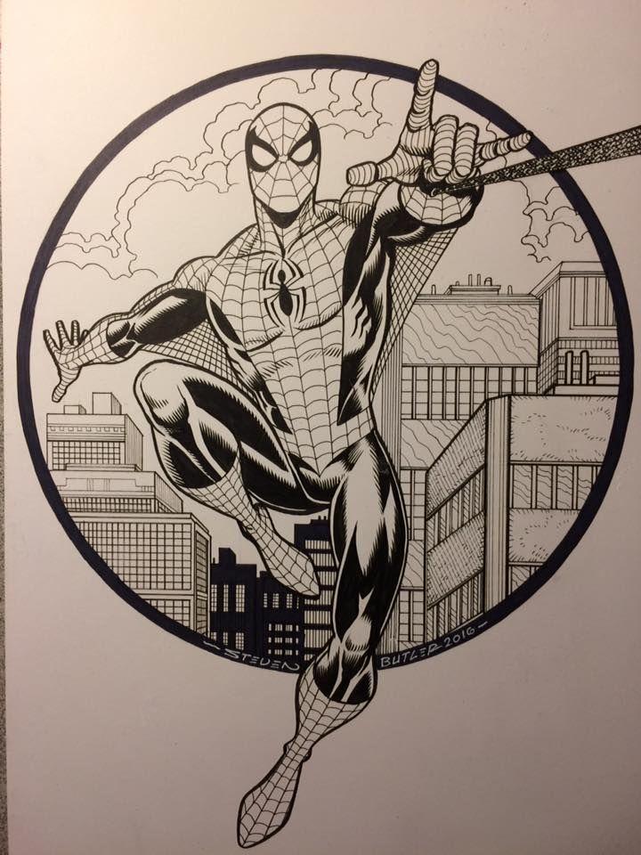 Spiderman Spiderman Drawing Spiderman Art Sketch Spiderman Comic Art