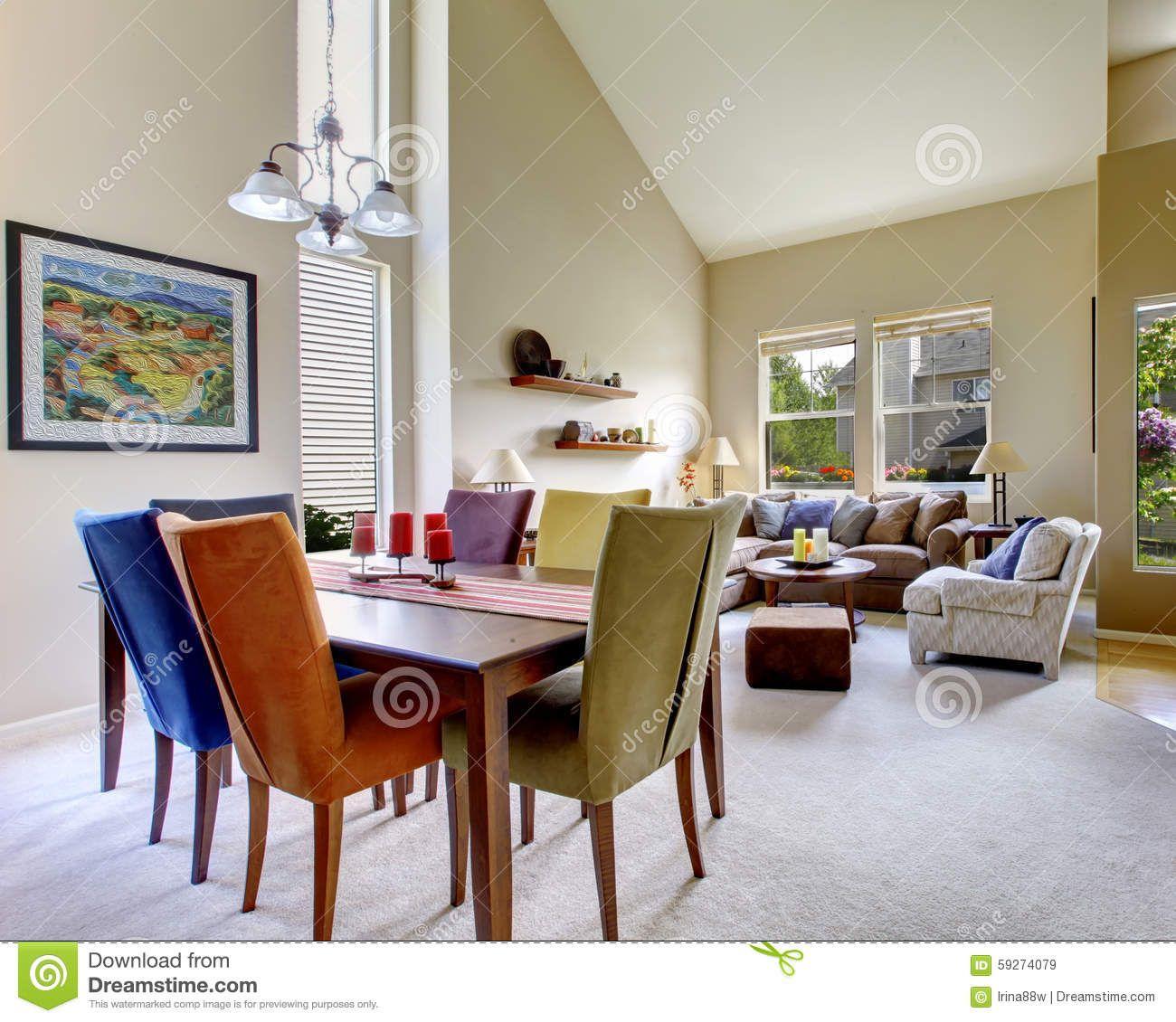 chaises couleurs salle � manger iz66 | jornalagora