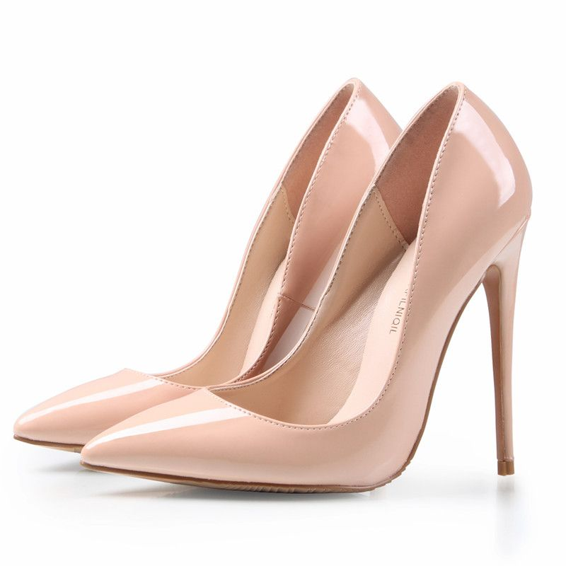 Cheap Brand Womens Shoes High Heels Pumps 12CM High Heels Wedding Shoes  Woman High Heels Women e46f43bd5907