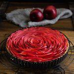 Apfel-Tarte #blätterteigrosenmitapfel