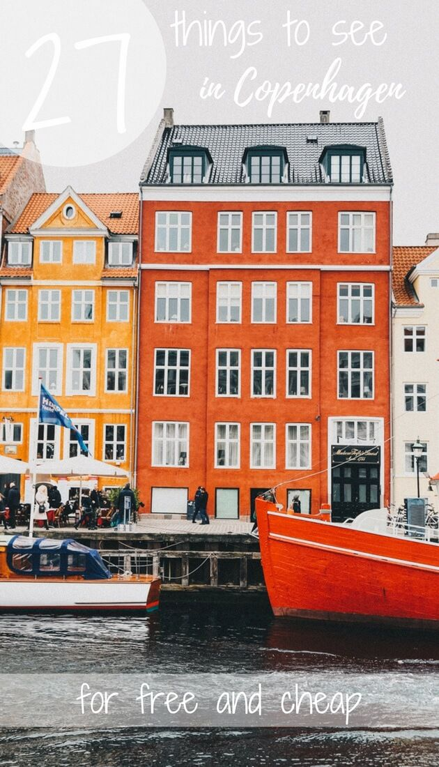 27 budget and free things to do in Copenhagen