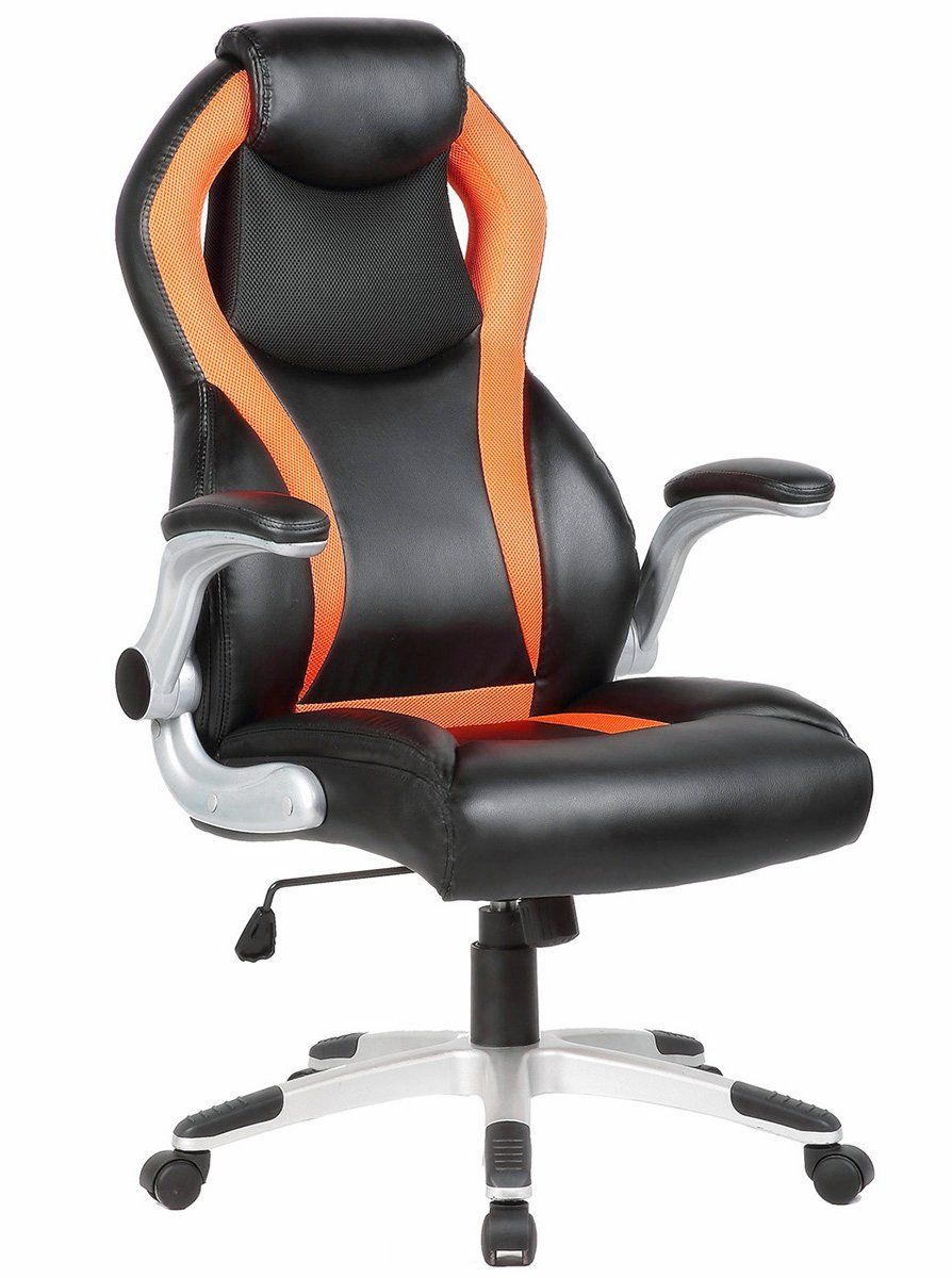 Folding Executive Chair Drive Walker Transport Seatzone Highback Swivel Office Adjustable Gaming With Armrest Racing Car Style Bucket