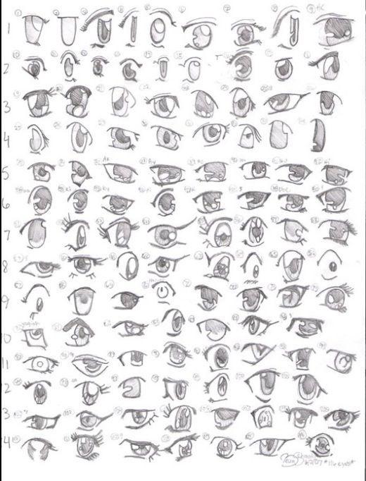 Resultado De Imagem Para Female Manga Face Shape How To