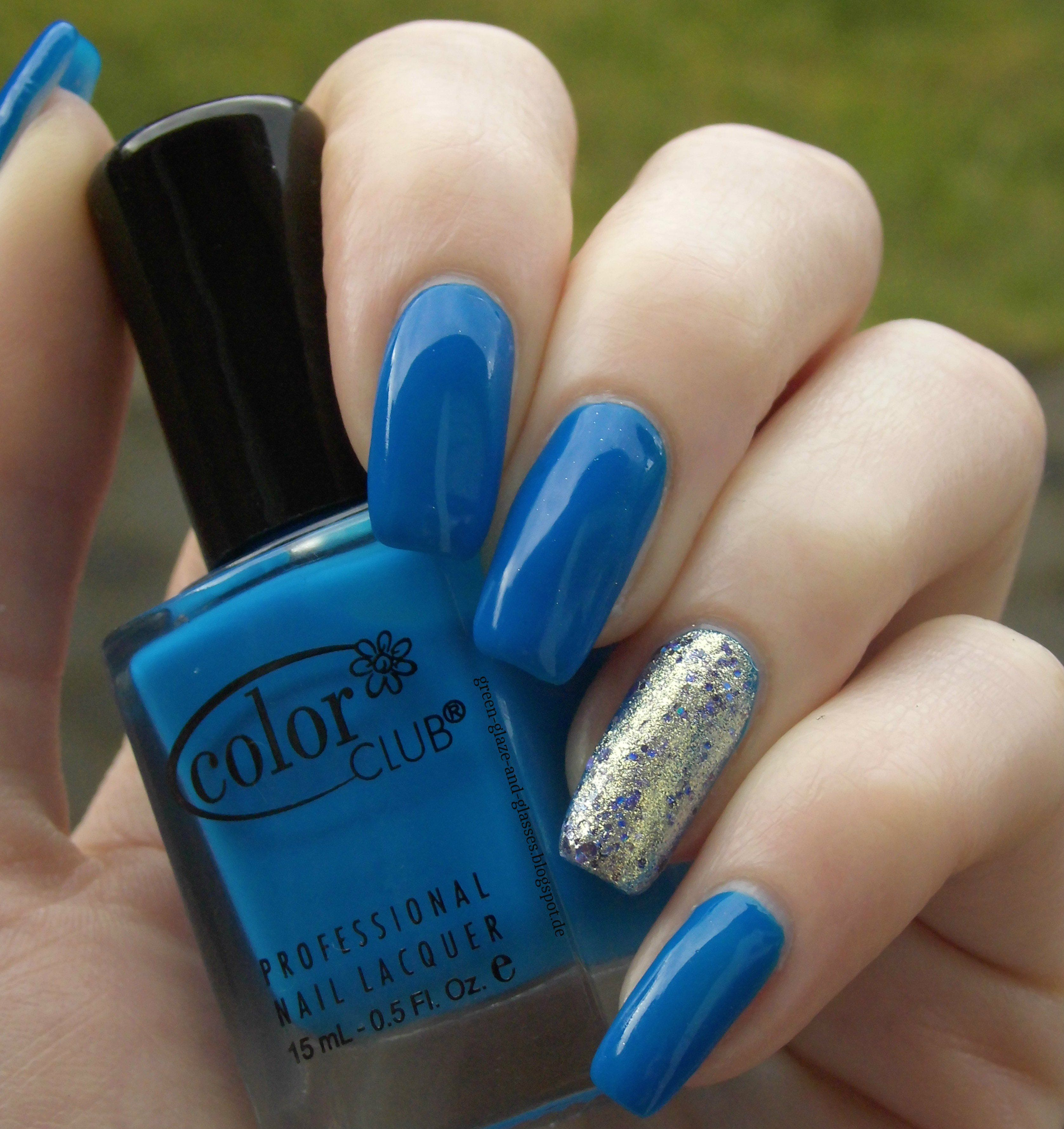 Color Club Chelsea Girl & Essie on a Silver Platter   Nail polish ...