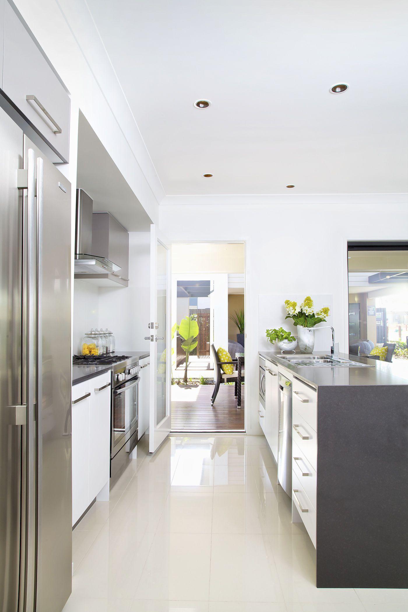 Clarendon Homes. Madison Series. Kitchen With Door