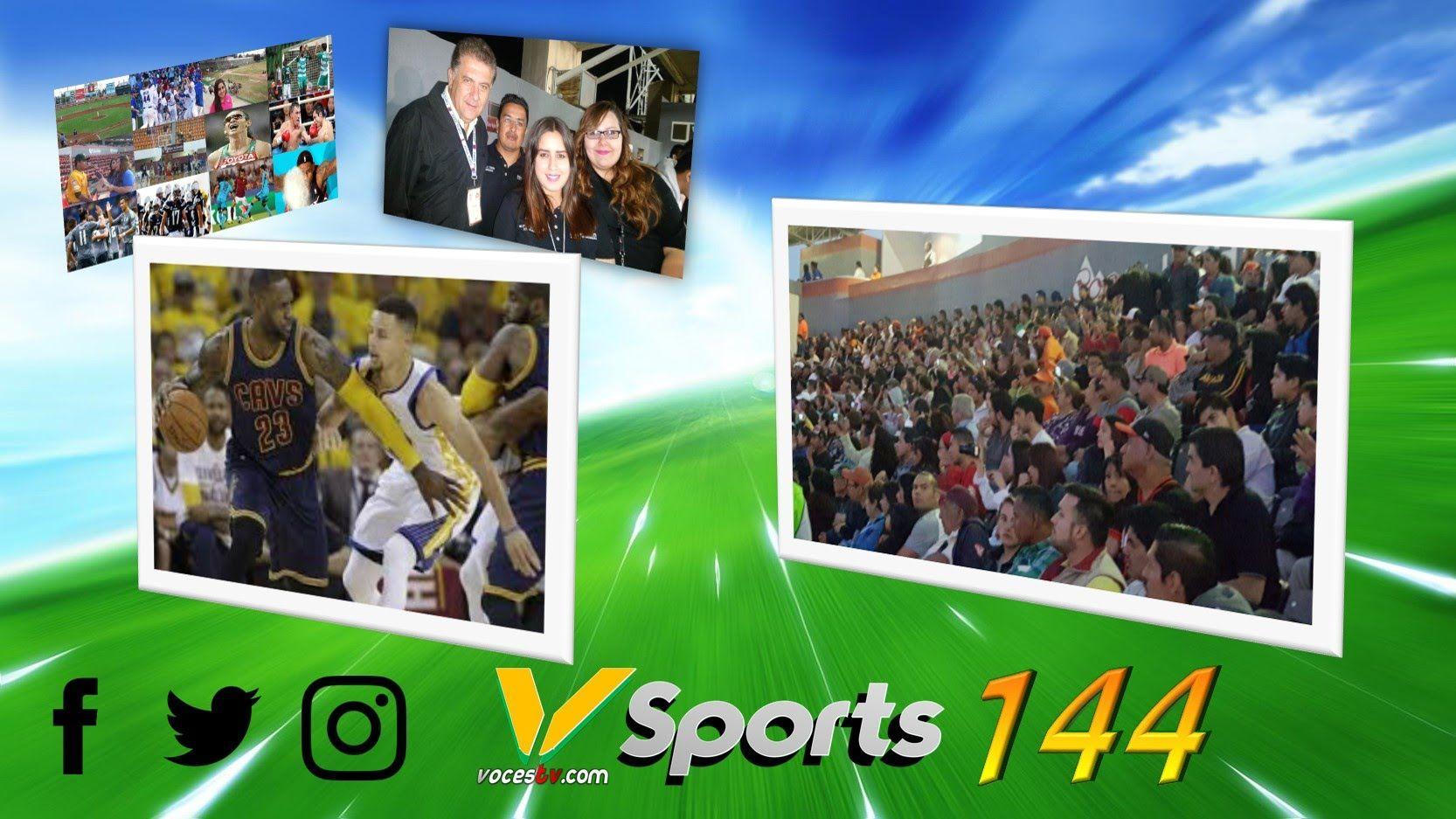 @vsports 144 // #RINCONVAQUERO @REDVAQUEROS // @NBAMEX #THEFINALS
