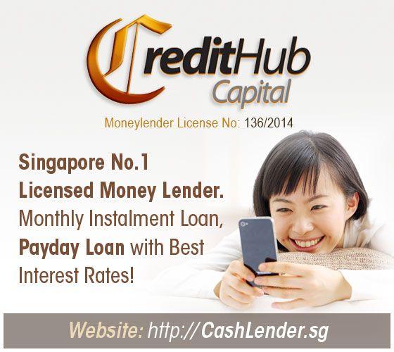 Credit Hub Licensed Money Lender Singapore Money Lender Personal Loans Easy Loans