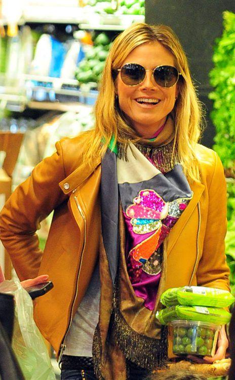 Posterazzi: Heidi Klum (Wearing Philipp Plein) At Arrivals