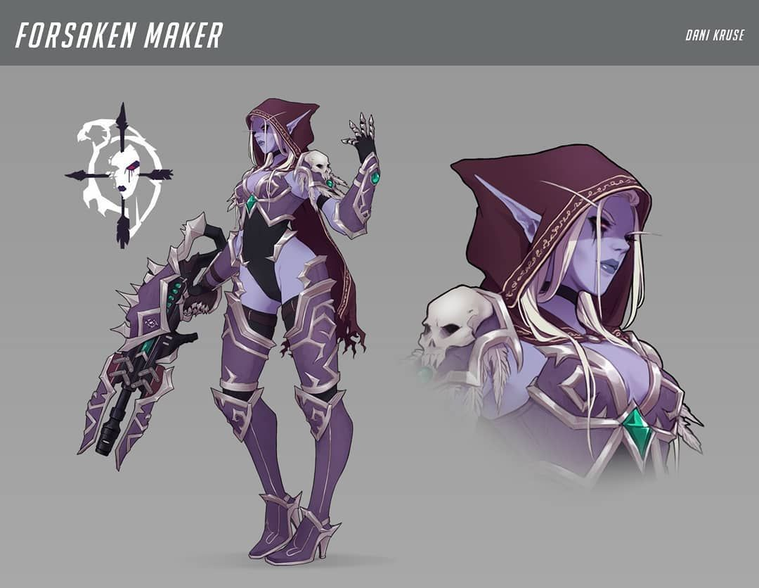 Halloween Skin Widowmaker 2020 Happy Halloween nerds! I made an #overwatch fanskin for widowmaker