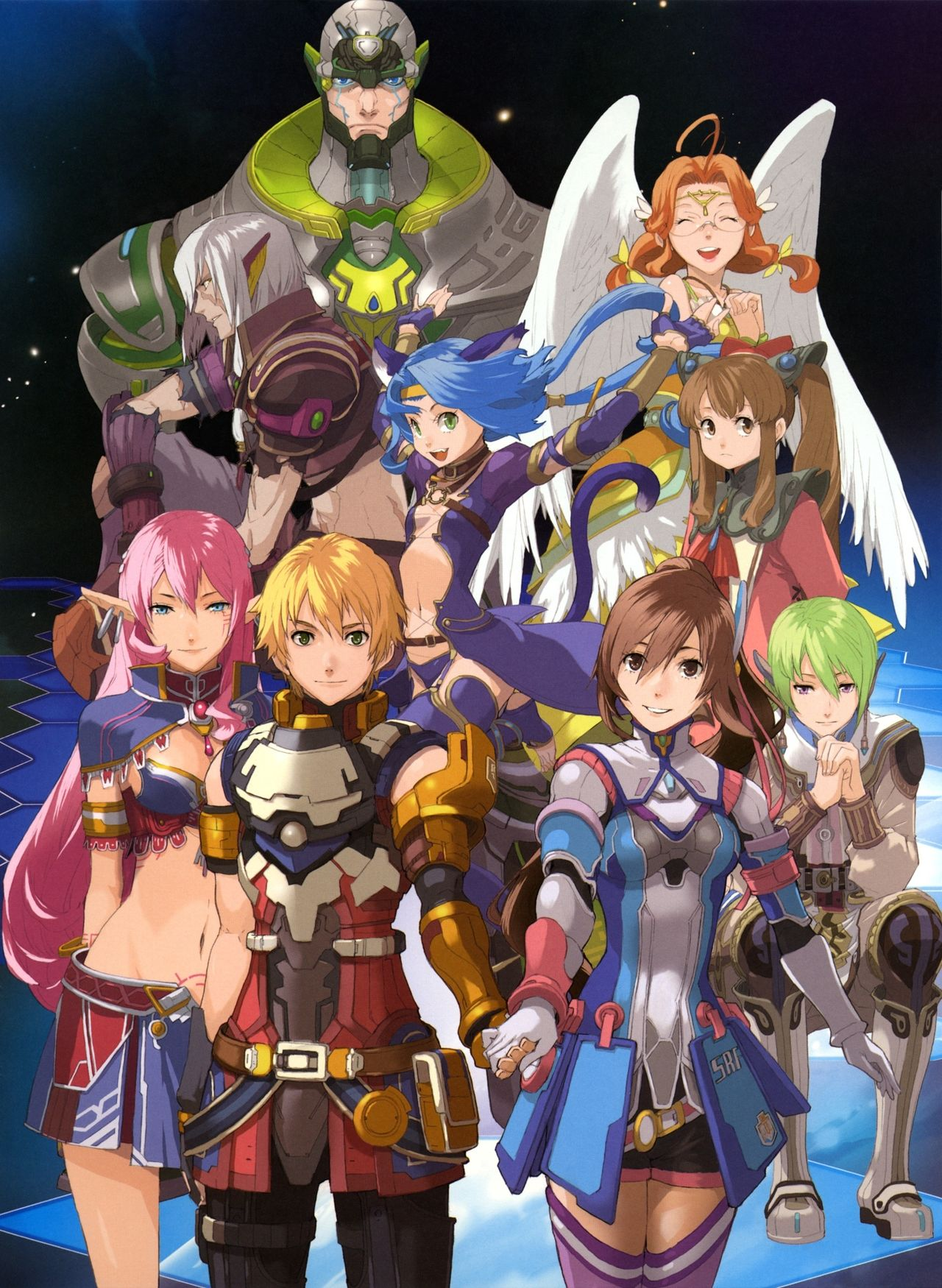 star ocean 4 the last hope press any button to start pinterest