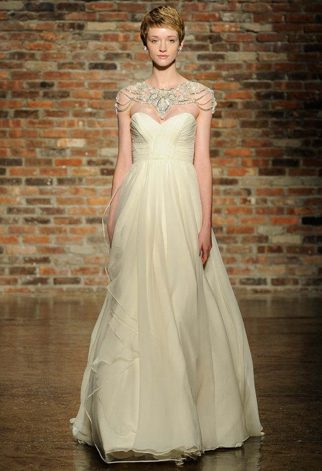 Haley Paige Spring 2014 Wedding Dress