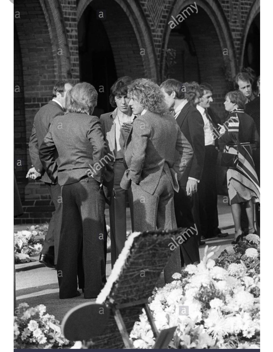 Keith Moon S Funeral Keith Moon Best Vibrators Rock And Roll
