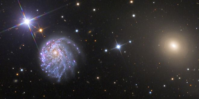 WIRED Space Photo of the Day: Northern Galaxy Duo | Astronomy ...