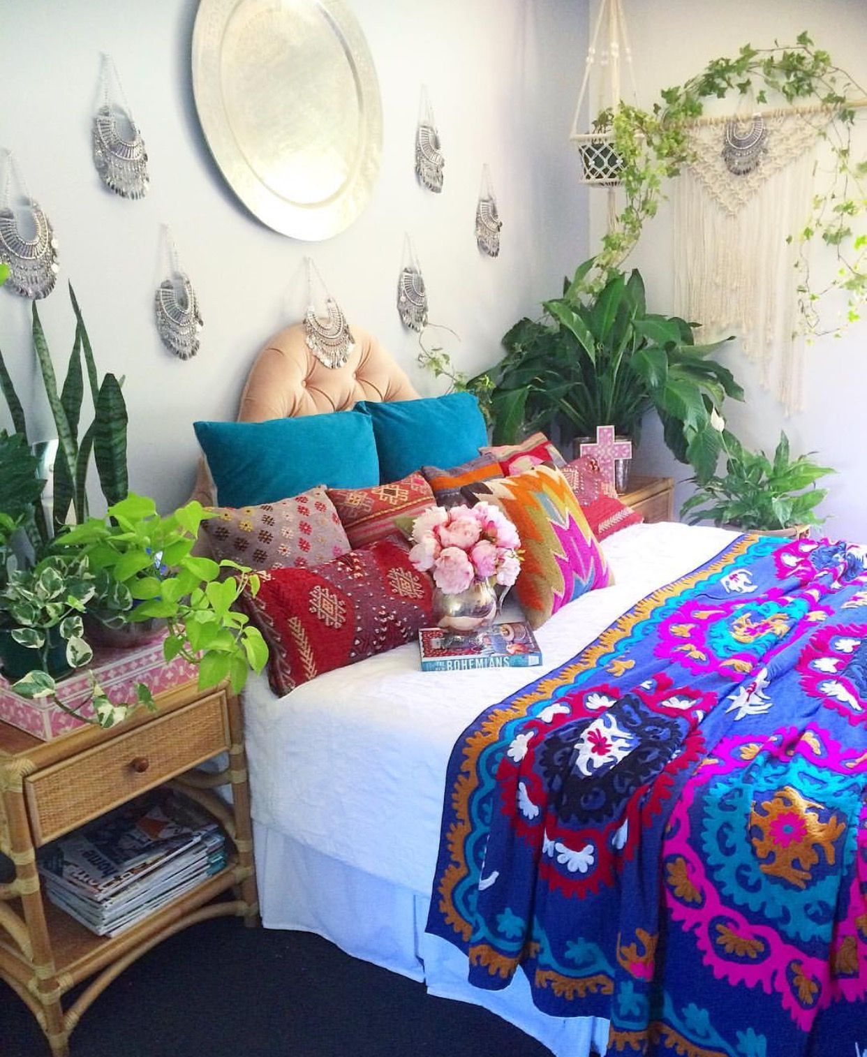 deco hippie chic dormitorio. Black Bedroom Furniture Sets. Home Design Ideas