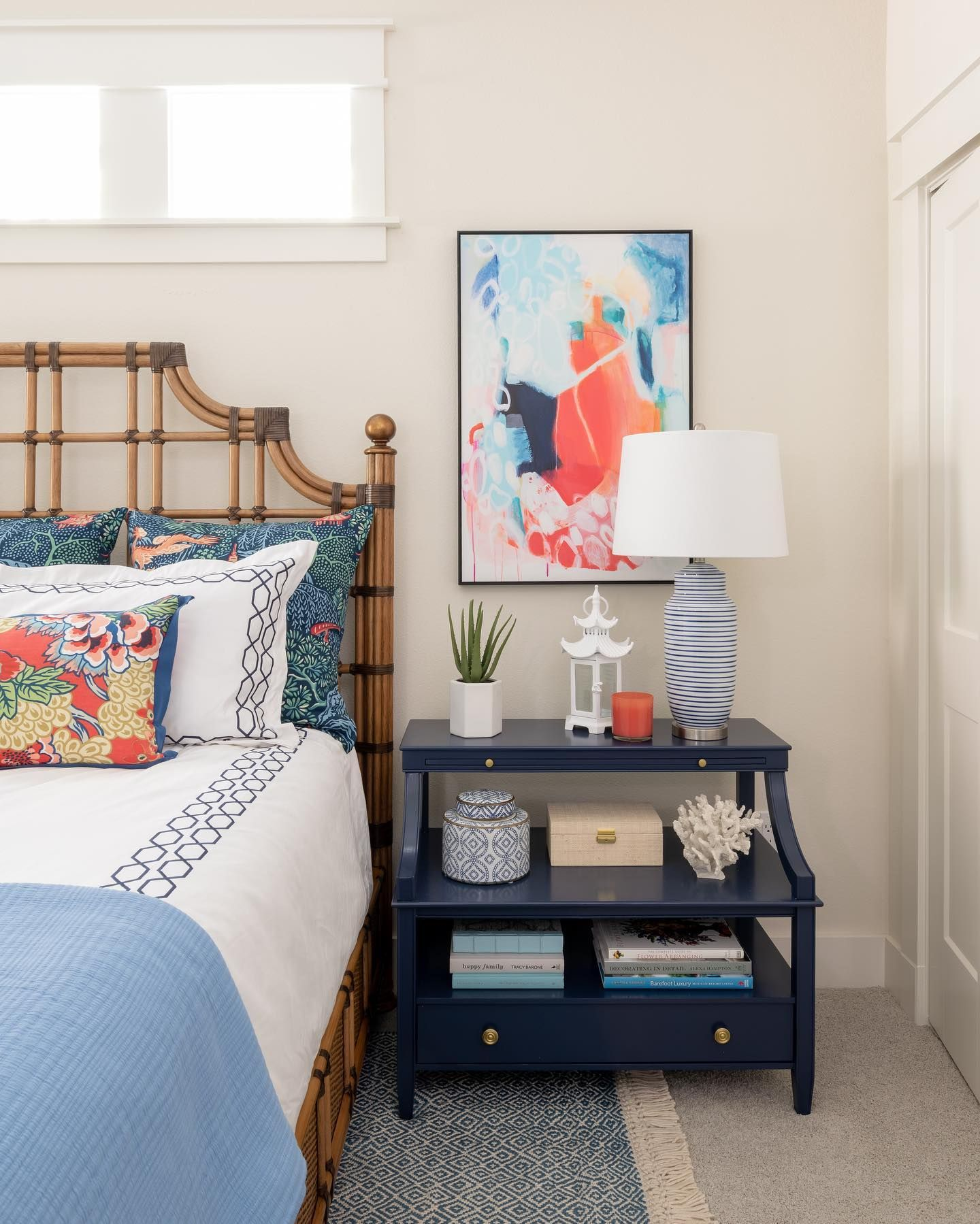 Sometimes all it takes to make a bedroom stand out is