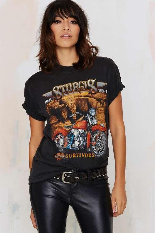 Vintage Clothing Harley Shirts Fashion Clothes Women Vintage Harley Davidson Shirt