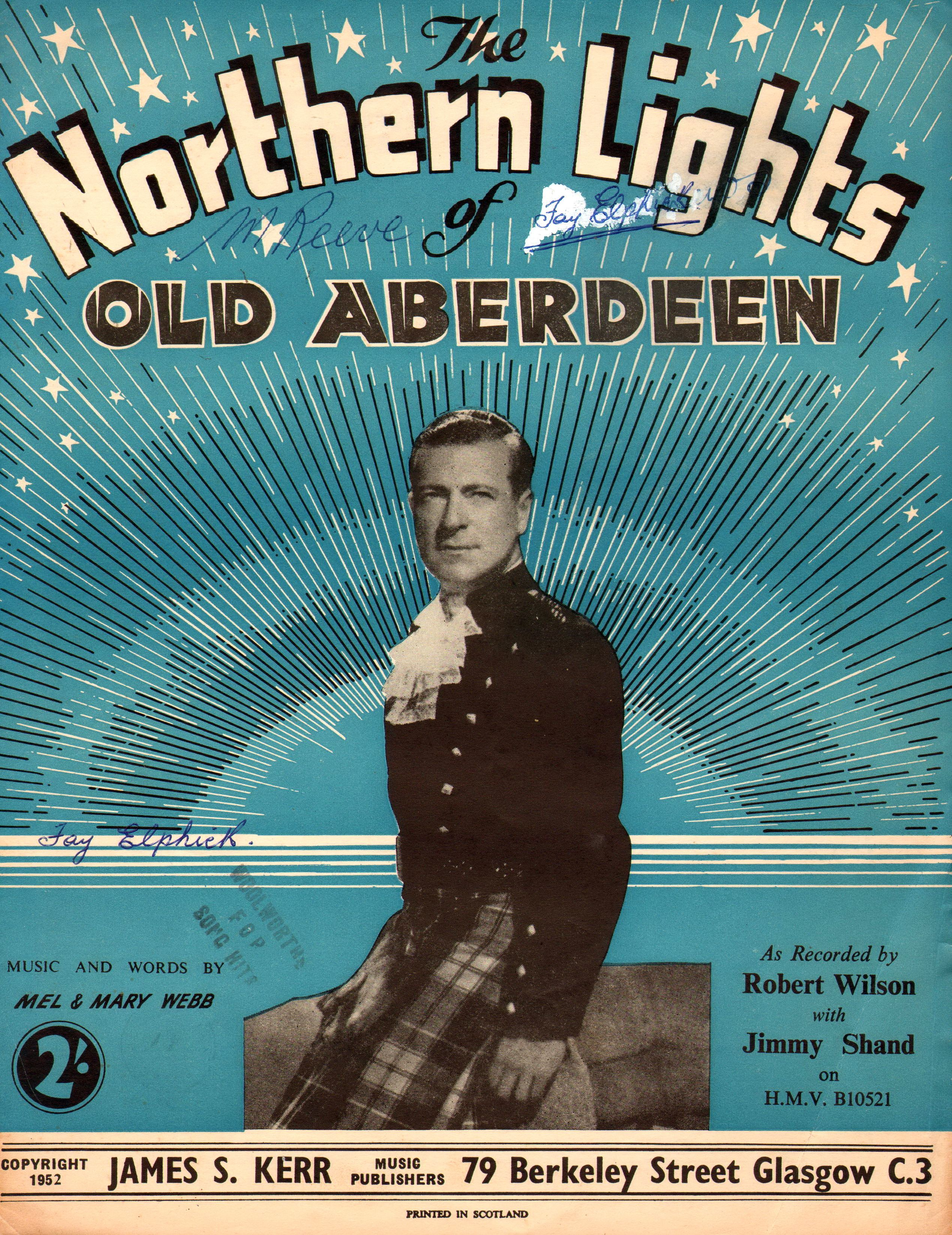 Bedroom detached house for sale in crathie ballater aberdeenshire - The Northern Lights Of Old Aberdeen 1952 By Mel Mary Webb Featured Here