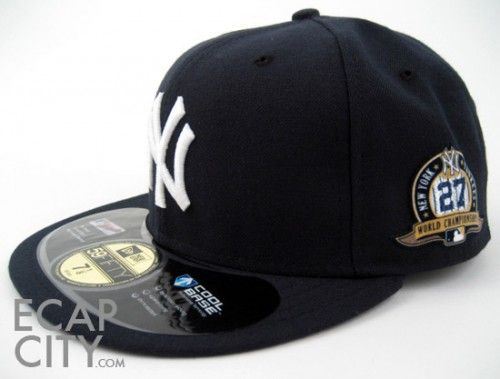 109901990ab71 New-York-YANKEES-27TH-CHAMPIONSHIP-New-Era-59Fifty-Fitted-Hats ...