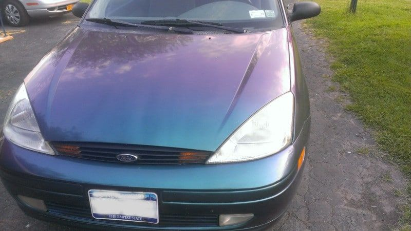 Red Green Blue Chameleon Ford Focus Blue Green Red Green Ford