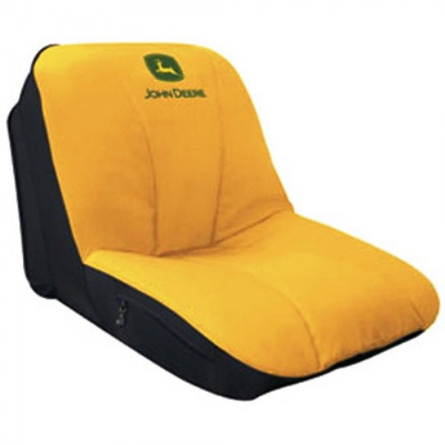 Wondrous Deluxe John Deere Gator Mower Yellow Seat Cover M Machost Co Dining Chair Design Ideas Machostcouk