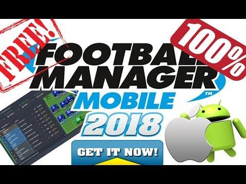 football manager mobile free