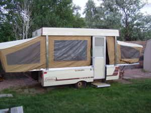 Popup Camper 1977 Coleman Lexington Rebuild