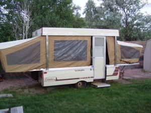 1977 Coleman Lexington Rebuild Pop Up Camper Mods