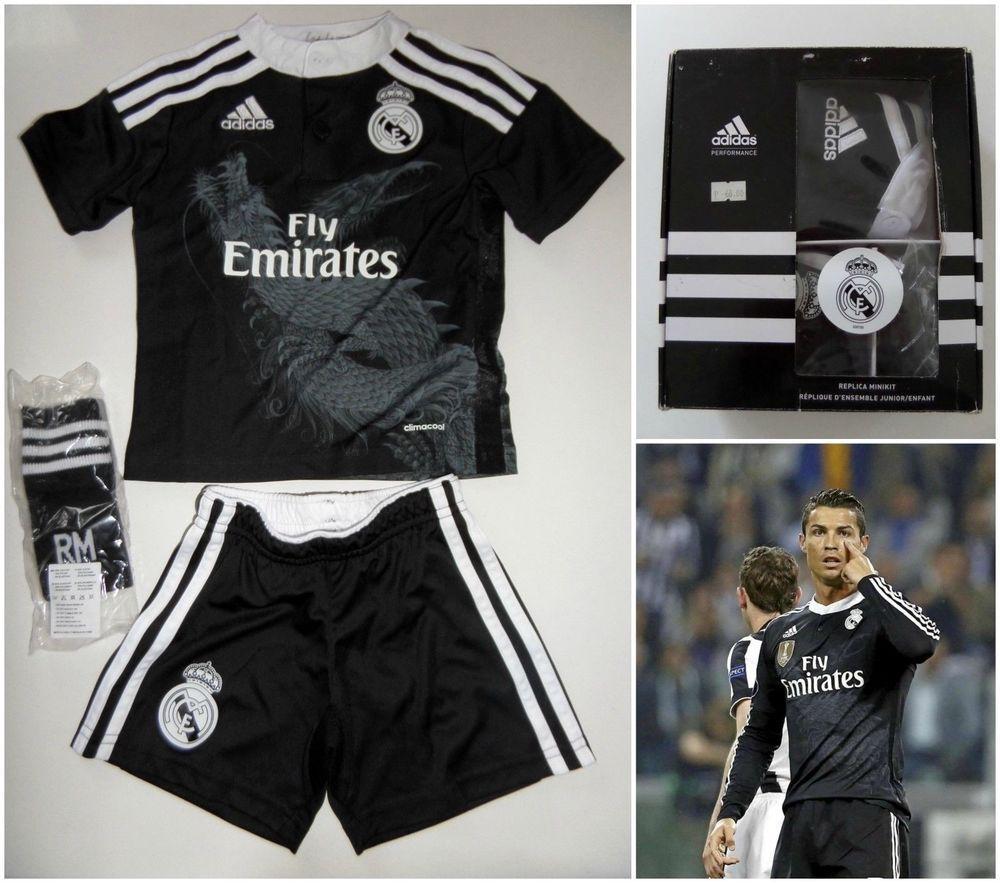 Adidas Real Madrid Dragon Minikit Boys Kids Design By Yohji Yamamoto Y3 Football Adidas Footballkit Vintage Sportswear Adidas Sportswear Sportswear