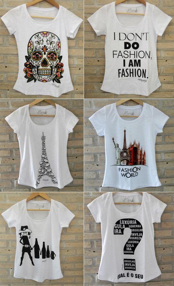 8ef3f3a836 t shirt feminina - Pesquisa Google Camiseta Preta
