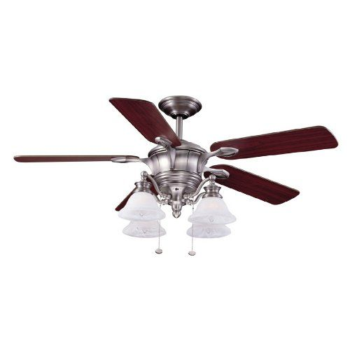 52 inch brushed nickel bellhaven ceiling fan 4 lights 5 reversible 52 inch brushed nickel bellhaven ceiling fan 4 lights 5 reversible blades harbor breeze httpamazondpb001ngbc34refcmswrpidp9eqmwb1z7q9m0 mozeypictures Gallery