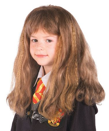 Love this Harry Potter  Hermione Wig on #zulily! #zulilyfinds