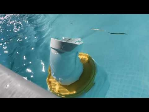 Homemade Pool Skimmer And Fountain Diy Youtube With Images