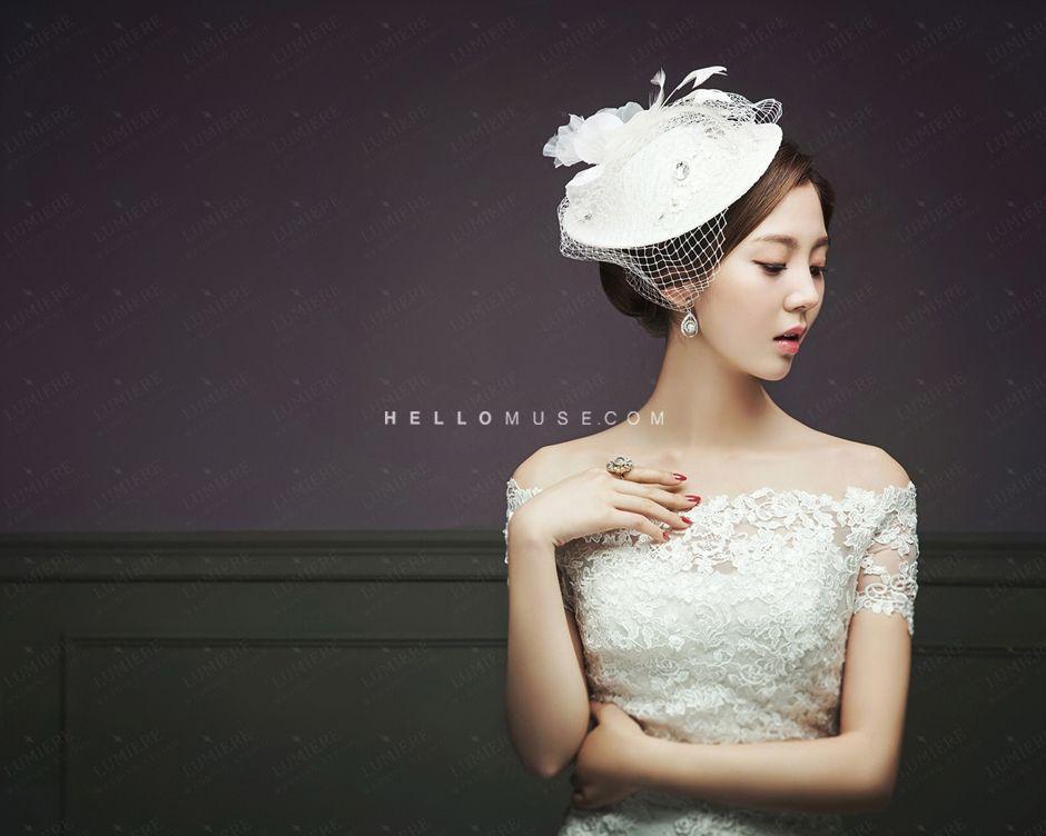 Wedding photography studio  2016 new Korea pre wedding photo shoot sample photos in studio ...