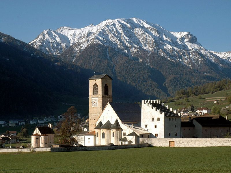 Benedictine Convent of St. John at Müstair (UNESCO World Heritage Site)