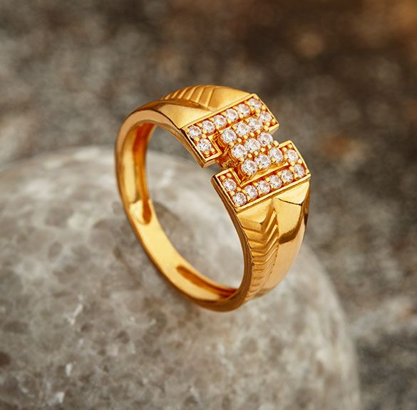 Beautiful Gold Rings For Girl Khazana Mens Gold Rings Gold Ring Designs Mens White Gold Rings