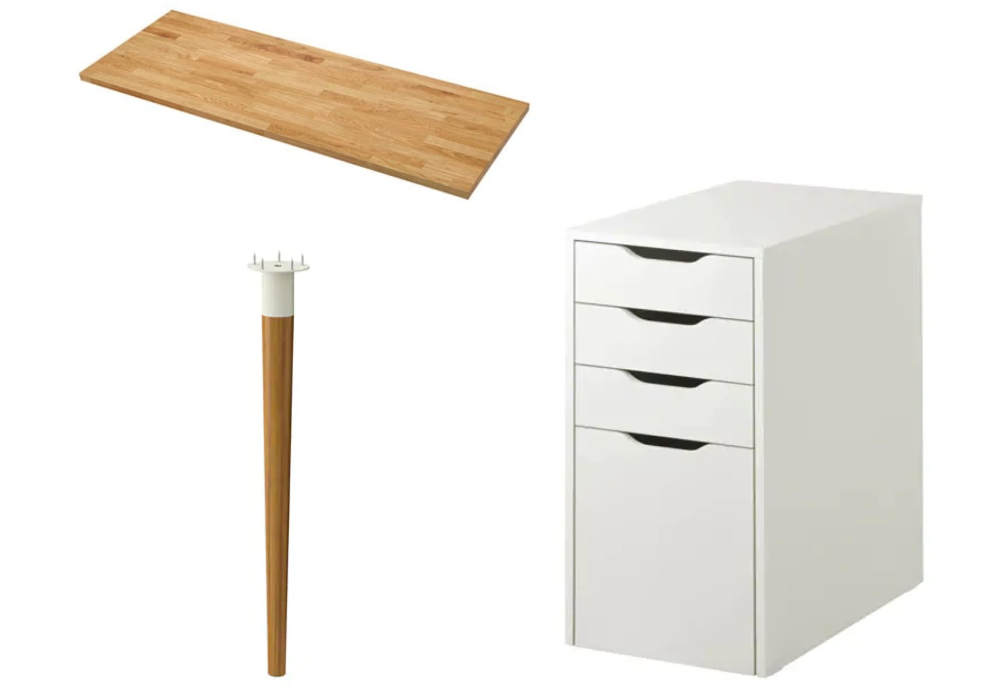 10 Ikea Hacks From Reddit That Ll Inspire Your Own Creativity Ikea Hack Ikea Ikea Alex Desk