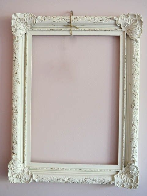 vintage picture frames, large, several - to be made into bulletin ...