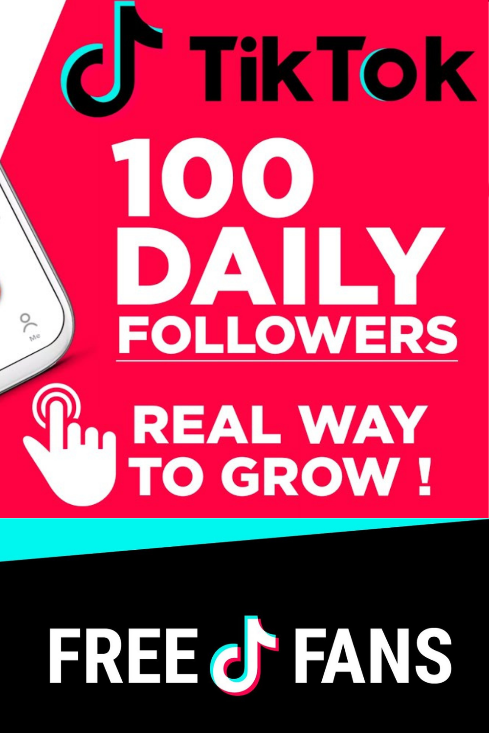 Get 100 Followers A Day On Tiktok Easy And Real Method How To Get Followers Heart App How To Get