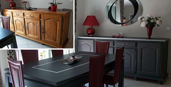 relooker un meuble en chene - Recherche Google Relooker des - Repeindre Un Meuble En Chene