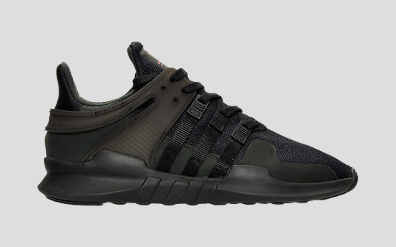 premium selection a573c 0ef7f adidas EQT Support 93|17 Triple Black #adidas Adidas ...