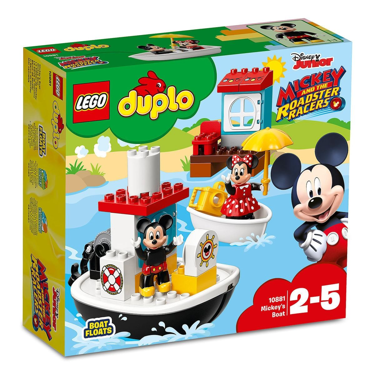 Mickey Mouse Boat Duplo Playset By Lego Mickey And The Roadster Racers