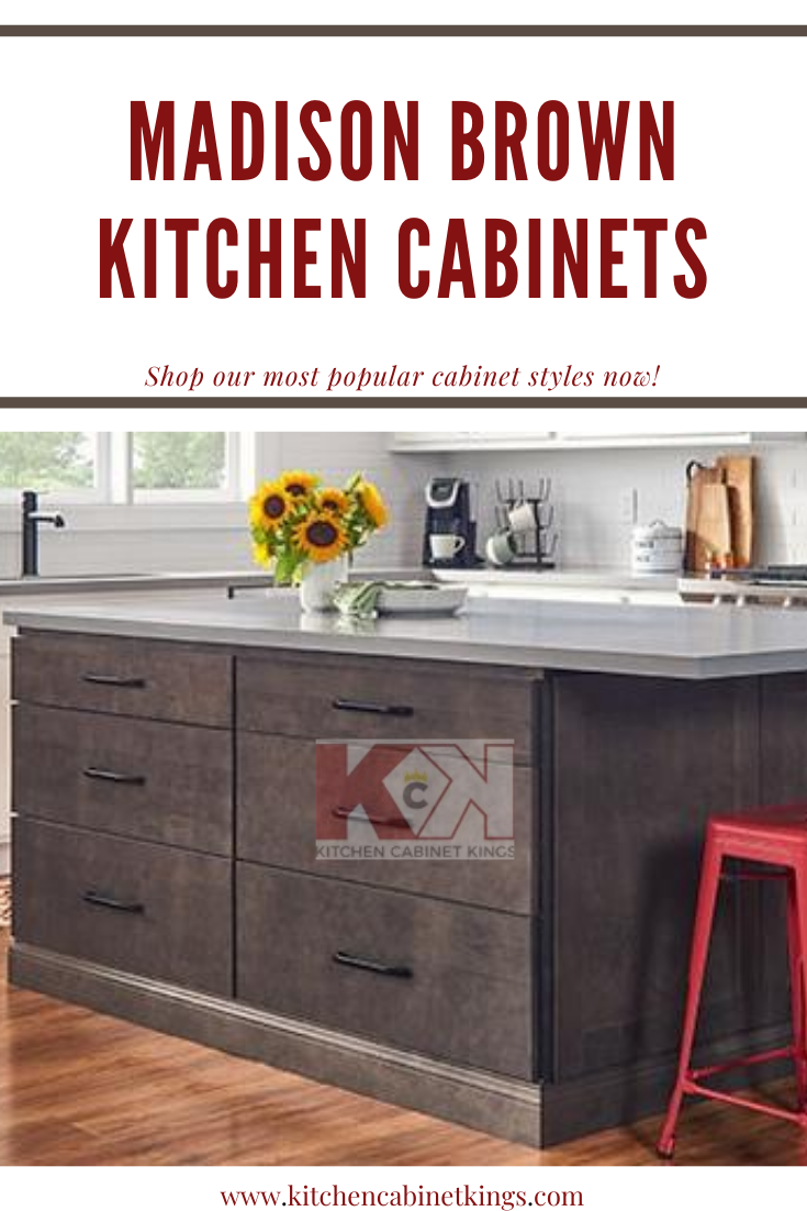 Madison Brown American Made Kitchen Cabinets In 2020 Brown Kitchen Cabinets Kitchen Cabinet Kings Kitchen Cabinets