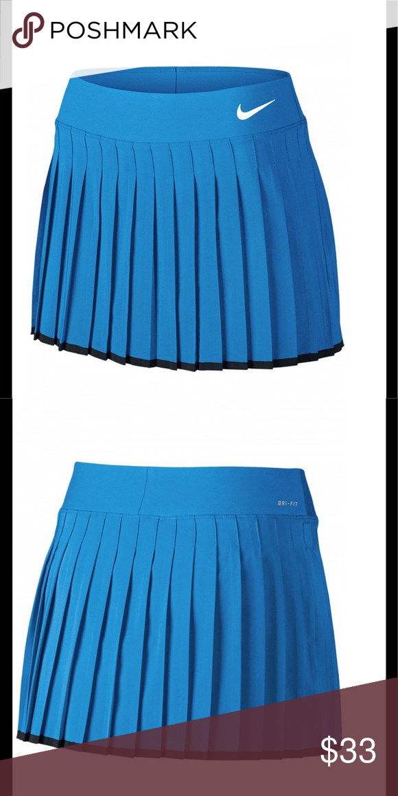 Nike Women S Summer Victory Skirt Nwt Dri Fit Skirt With A Sleek Feminine Fit Features Pleats Contrast Color Hem Ban Fashion Clothes Design Fashion Design